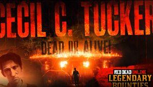 artwork showing new legendary bounty in red dead online