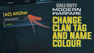 artwork showing cod mw in game menu