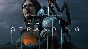 death stranding screenshot showing norman reedus holding a baby