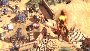 Picture of some units duking it out in Conan Unconquered