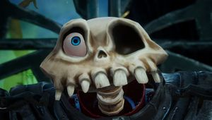 picture showing protagonist from MediEvil upclose