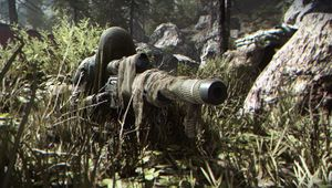 modern warfare screenshot showing stealthy sniper