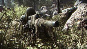 modern warfare screenshot showing stealthy sniper