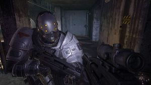 Picture of a soldier in F.E.A.R. 2