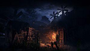 Nioh 2 screenshot showing a fire place in night