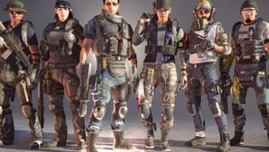 the division 2 artwork showing several agents with guns
