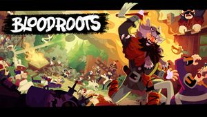 Key art for Bloodroots.