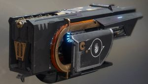 Destiny 2 - Picture of Jotunn, also known as Toaster