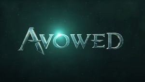 Avowed artwork showing the game's logo