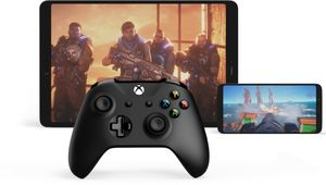 artwork showing xbox one controller, a smartphone and a tablet