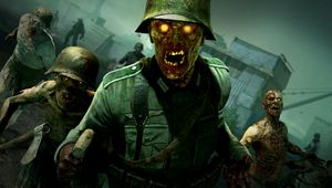 The horde approaches in Zombie Army 4: Dead War.