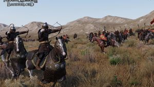 An ancient battlefield depicted in Mount & Blade 2: Bannerlord