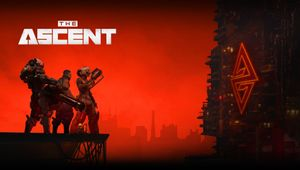 The Ascent - key art with logo