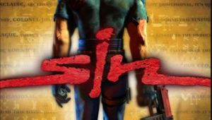 Sin artwork showing a logo