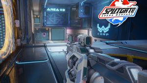 Picture of the first person view in Splitgate
