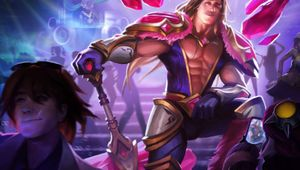 Taric is checking Ezreal from behind confirming that League of Legends has more closeted champions than a hardcore religious family