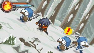 Wonder Blade - Sliding down a hill