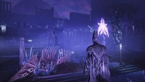 screenshot from the Souls-like game Hellpoint