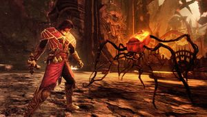 Castlevania: Lords of Shadow screenshot showing boss fight