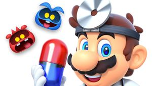 Dr. Mario World protagonist and viruses