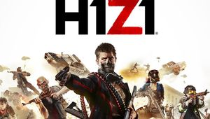Poster for H1Z1 showing the many customization options for your character.