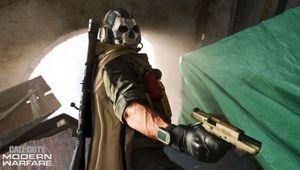 Call of Duty: Modern Warfare screenshot showing ghost operator