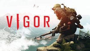 Key art for Vigor.