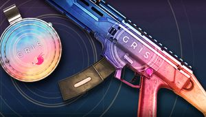 Gris weapon skin and charm in Rainbow Six Siege - promo image