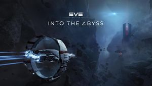 Poster for EVE Online's expansion Into the Abyss