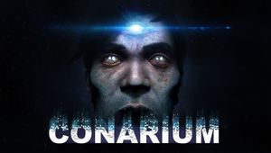 Conarium key art with logo