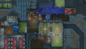Living quarters in RimWorld