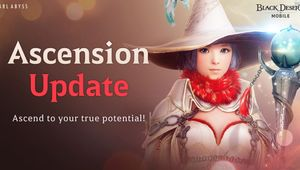 Black Desert Mobile - Ascension update
