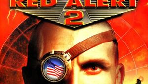 CnC:Red Alert 2 cover image showing game title and face of russian with monocle