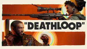 Deathloop artwork showing main protagonists