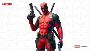 Fortnite's depiction of Deadpool