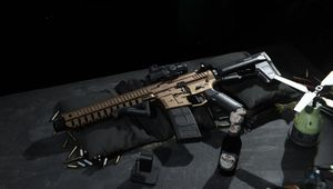 screenshot showing XRK M4 weapon in modern warfare