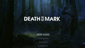 Picture from Death Mark's title screen