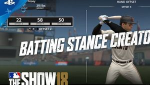 Promotional image for MLB The Show 18