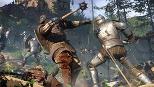 Two knights fighting in Kingdom Come: Deliverance