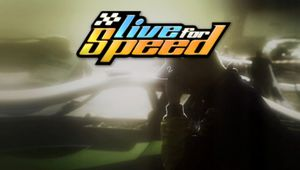 Logo for Live for Speed racing game