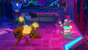 Screenshot from the upcoming Battletoads game