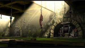 Mortal Kombat artwork showing Dead Pool stage