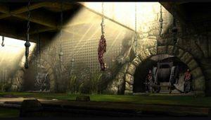 Mortal Kombat artwork showing Dead Pool stage