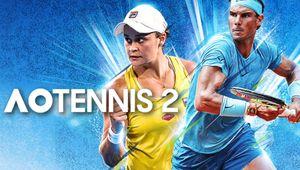 Key art for AO Tennis 2