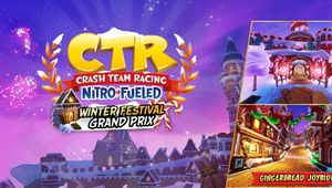 artwork showing ctr logo and a new track