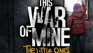 Promotional image for This War of Mine in gray background