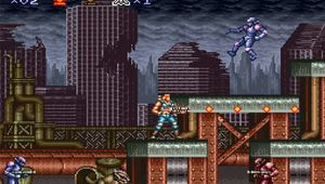 Screenshot from Contra III - The Alien Wars