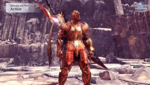 Monster Hunter: World - new transforming armour