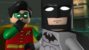LEGO versions of Batman and Robin from LEGO Batman