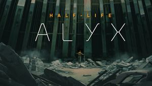 Key art for Half-Life: Alyx.